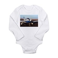 Aircraft (blue & white) at Page, Arizona Body Suit