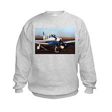 Aircraft (blue & white) at Page, A Sweatshirt