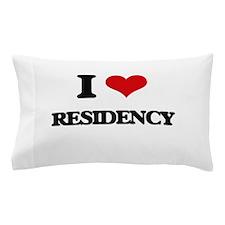 I Love Residency Pillow Case
