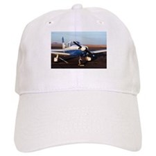 Aircraft (blue & white) at Page, Arizona, USA Baseball Cap