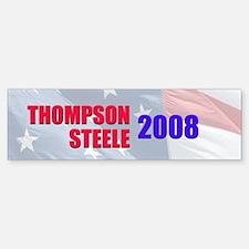 Thompson / Steele Bumper Bumper Bumper Sticker
