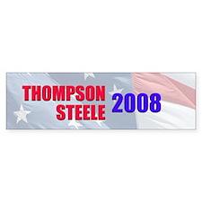 Thompson / Steele Bumper Bumper Sticker