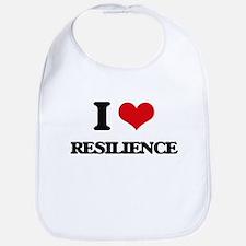 I Love Resilience Bib