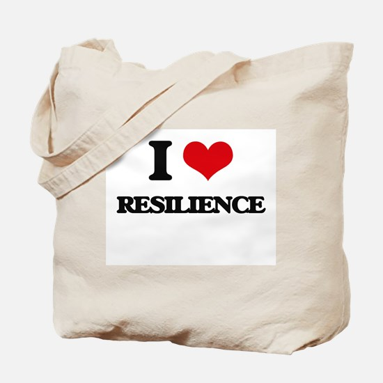I Love Resilience Tote Bag