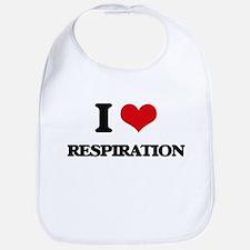 I Love Respiration Bib