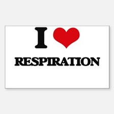I Love Respiration Decal