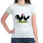 Black Dutch Pair Jr. Ringer T-Shirt