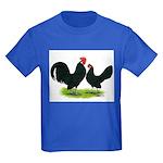 Black Dutch Pair Kids Dark T-Shirt