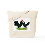 Black Dutch Pair Tote Bag