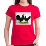 Black Dutch Pair Women's Dark T-Shirt