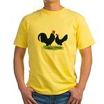 Black Dutch Pair Yellow T-Shirt