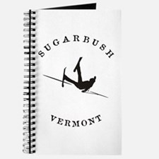 Sugarbush Vermont Funny Falling Skier Journal