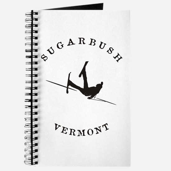 Sugarbush Vermont Funny Falling Skier Journal