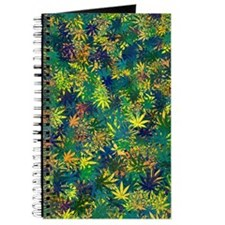 Abstract Leaf Pattern Journal