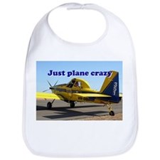 Just plane crazy: Air Tractor (blue & yellow) Bib