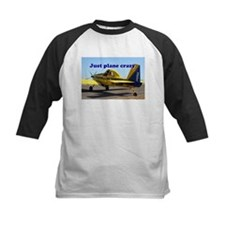 Just plane crazy: Air Tractor (blu Baseball Jersey