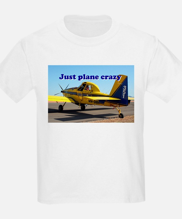 Just plane crazy: Air Tractor (blue & yell T-Shirt