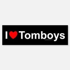 Tomboys Bumper Bumper Sticker