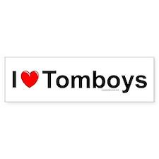 Tomboys Bumper Sticker