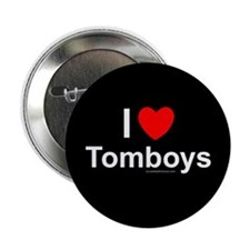 "Tomboys 2.25"" Button"