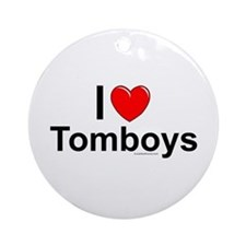 Tomboys Ornament (Round)