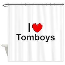 Tomboys Shower Curtain