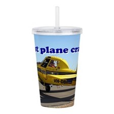 Just plane crazy: Air Acrylic Double-wall Tumbler