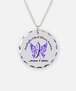 ALS Butterfly 6.1 Necklace
