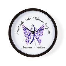 ALS Butterfly 6.1 Wall Clock