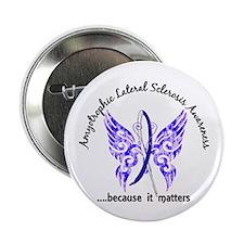 "ALS Butterfly 6.1 2.25"" Button (10 pack)"