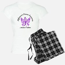 Alzheimer's Disease Butterf Pajamas