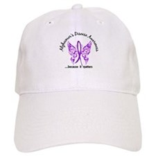Alzheimer's Disease Butterfly 6.1 Baseball Cap