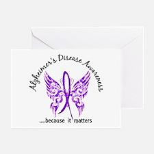 Alzheimer's Disease Butt Greeting Cards (Pk of 20)