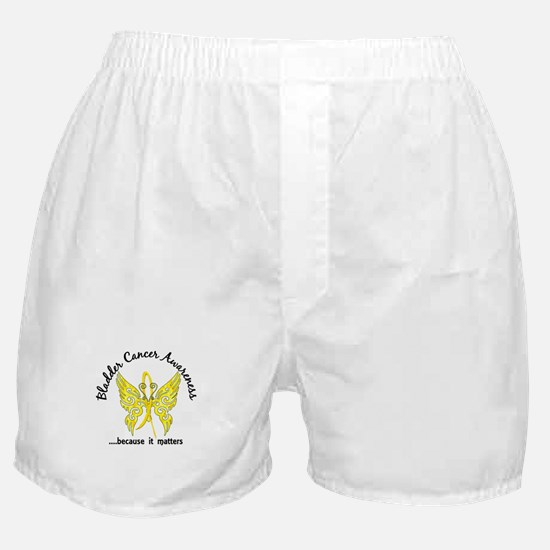 Bladder Cancer Butterfly 6.1 Boxer Shorts
