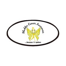 Bladder Cancer Butterfly 6.1 Patches