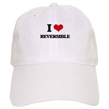 I Love Reversible Baseball Baseball Cap
