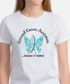 Cervical Cancer Butterfly 6.1 Tee