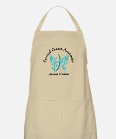 Cervical Cancer Butterfly 6.1 Apron