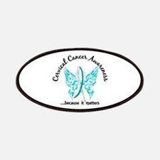 Cervical Cancer Butterfly 6.1 Patches