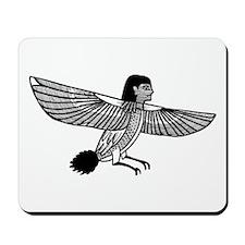 Egyptian Ba-Bird Symbol Mousepad