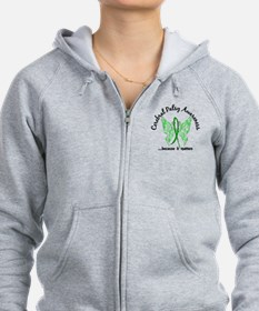 Cerebral Palsy Butterfly 6.1 Zip Hoodie