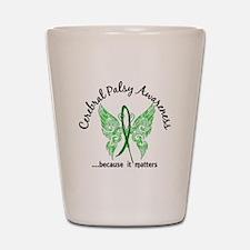 Cerebral Palsy Butterfly 6.1 Shot Glass