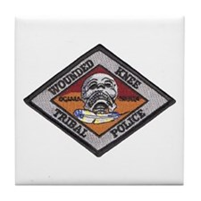 Wounded Knee Tile Coaster