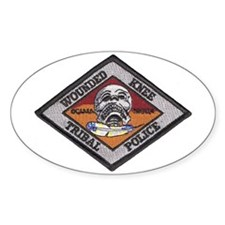 Wounded Knee Oval Decal
