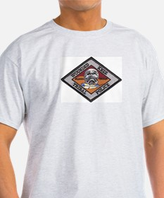 Wounded Knee Ash Grey T-Shirt