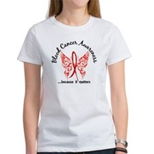 Blood Cancer Butterfly 6.1 Tee