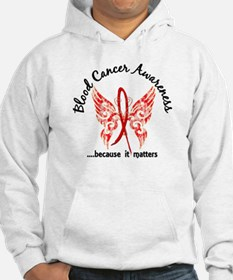 Blood Cancer Butterfly 6.1 Hoodie