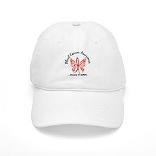 Blood Cancer Butterfly 6.1 Baseball Cap