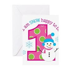 Cute 1st birthday Greeting Cards (Pk of 10)