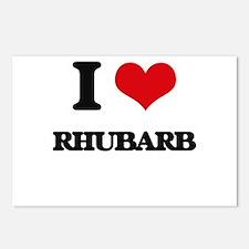 I Love Rhubarb Postcards (Package of 8)